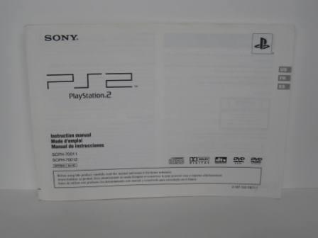 PS2 System Instruction Manual - PS2 Manual